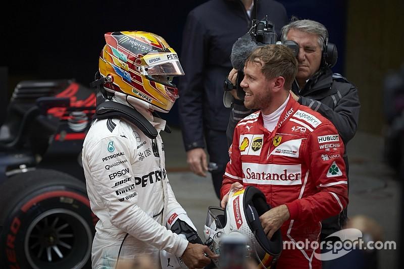 Hamilton admite que respeta a Vettel más que a cualquier otro piloto