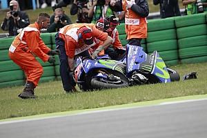 """MotoGP 速報ニュース 【MotoGP】リタイアのビニャーレス「僕の人生で最も""""奇妙""""な転倒」"""