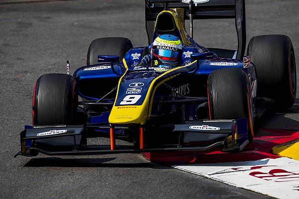 FIA F2 Relato da corrida F2: Rowland vence após drama de Leclerc; Câmara abandona