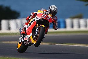 MotoGP Testing report Marquez tops opening day of MotoGP testing at Phillip Island