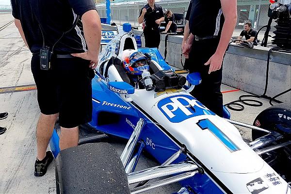 IndyCar Важливі новини Рікі Тейлор провів тести індікара команди Penske