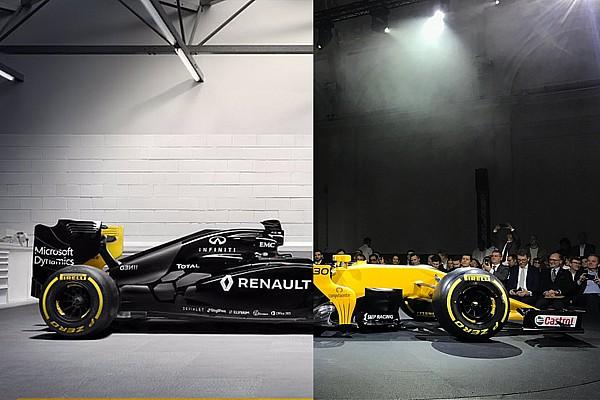 Формула 1 Самое интересное 2017 против 2016: сравнение новой машины Renault с прошлогодней