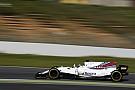 Tes Barcelona: Massa dan Williams tercepat pada hari Selasa