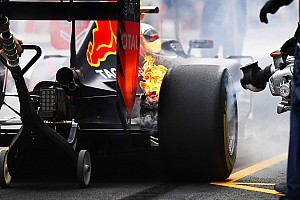 Formula 1 Practice report Mexican GP: Fire drama for Verstappen as Hamilton tops FP1