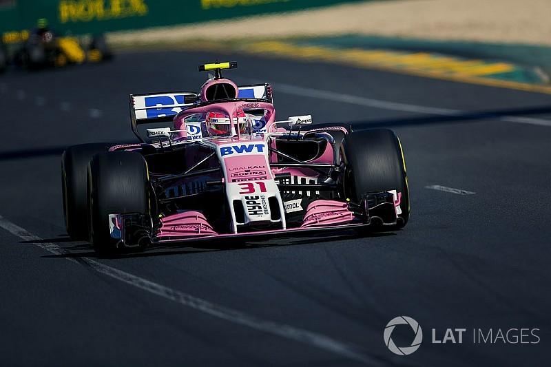 Ocon: Force India'da panik yok