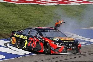 NASCAR Cup Interview Furniture Row owner Barney Visser welcomes that winning feeling