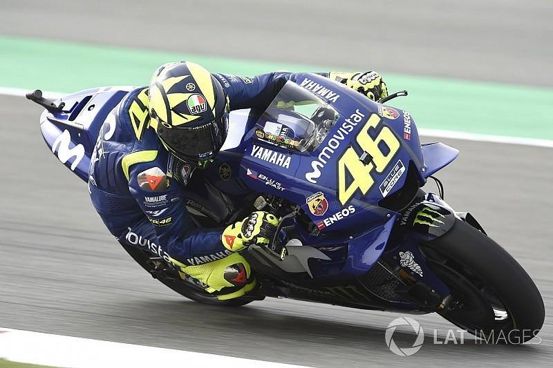 """Valentino Rossi trotz Platz neun zuversichtlich: """"Gefühl ist positiv"""""""