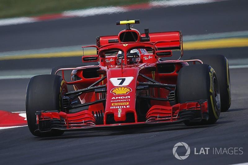 Primer problema de fiabilidad de Ferrari: cambio de motor para Raikkonen