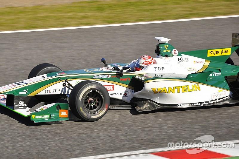 Nakajima quickest on second Super Formula  test day