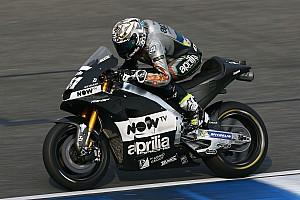 Aprilia n'aura son nouveau moteur qu'au 1er Grand Prix