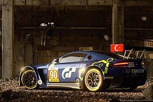 SİMÜLASYON DÜNYASI Son dakika Salih Yoluç'un Aston Martin Vantage'ı Gran Tourismo Sport'da