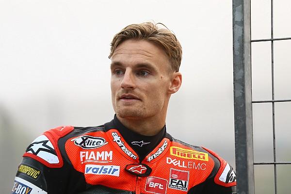 Superbike-WM News Sorgen bei Ducati: Wird Chaz Davies bis zum Saisonstart richtig fit?