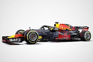 Formel 1 News Red Bull zeigt offizielle Lackierung für 2018 und offenbart Aero-Detail