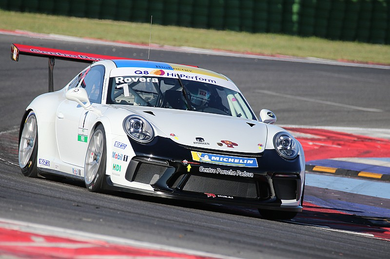 Carrera Cup Italia, Misano: Rovera serve il tris di pole in riviera