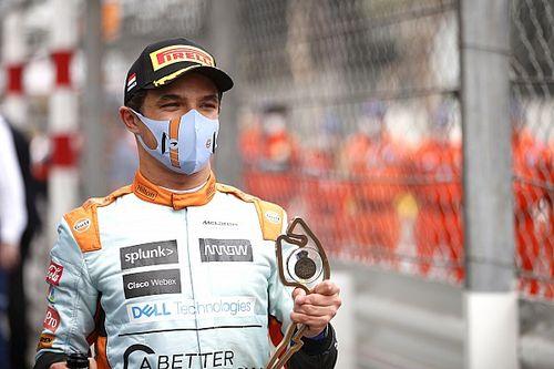 """布朗:诺里斯与当前F1""""赛道上任何人一样快"""""""