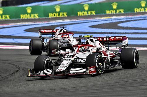 Alfa Romeo sugiere que puede prescindir de Raikkonen y Govinazzi para 2022