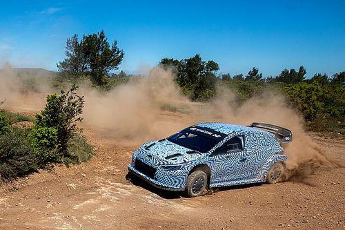 هيونداي تكشف عن الصور الأولى لسيارتها الجديدة رالي1 لعام 2022