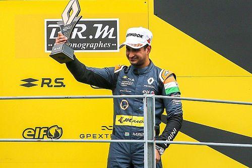 Kush Maini scores podium on Renault Eurocup debut