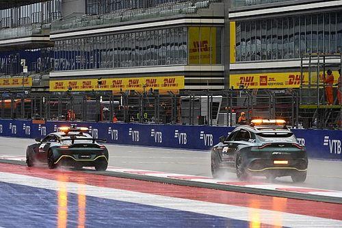 توقعات بهطول الأمطار يوم السبت في سوتشي وسط تقديم موعد سباق الفورمولا 3