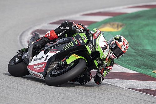 Rea tops first day of Barcelona World Superbike test