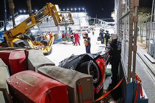 Lynn '100 procent' ongedeerd na zware crash in Riyadh