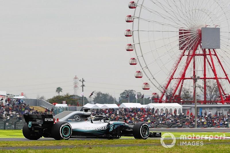 FP1 GP Jepang: Hamilton pimpin Mercedes 1-2 di latihan pertama