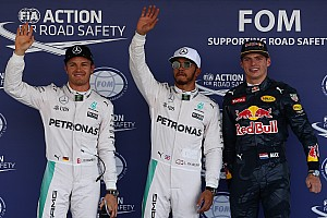 Formula 1 Qualifying report Mexican GP: Hamilton on pole as Rosberg pips Red Bulls