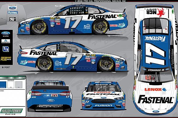 NASCAR Sprint Cup Stenhouse homenajeará a Bryan Clauson con diseño de auto
