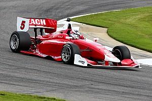 Indy Lights Qualifying report Veach edges Indy Lights pole for Belardi