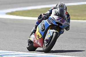 Moto2 Verslag vrije training Wisselend weer ook spelbreker in tweede training, Marquez bovenaan
