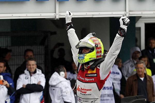 DTM Jamie Green gana una complicada segunda carrera del DTM