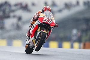"""MotoGP Últimas notícias Longe da briga pela pole, Márquez diz: """"sou humano"""