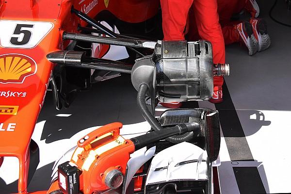 Формула 1 Аналіз Технічний брифінг: гальмівні вентиляційні отвори Ferrari