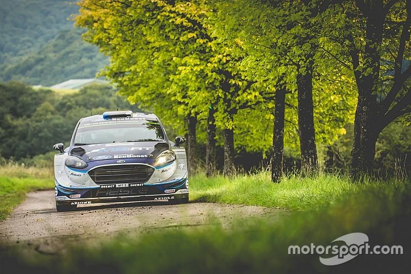 Tanak está al frente en el Rally de Alemania