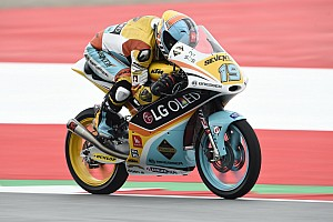 Moto3 Qualifying report Moto3 Austria: Rodrigo cetak pole, Mir start ke-10