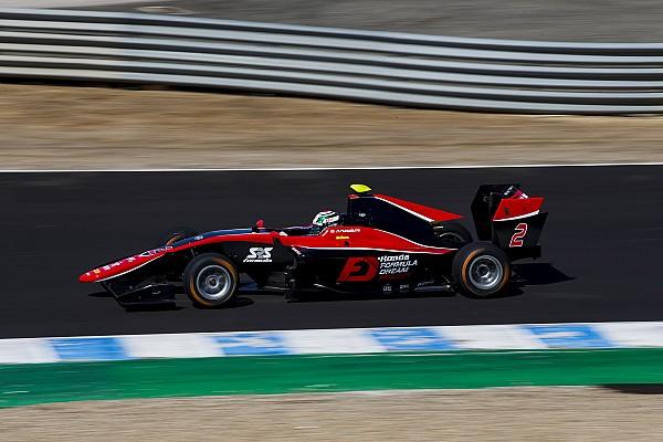 GP3 Reporte de la carrera Victoria de Fukuzumi en la GP3