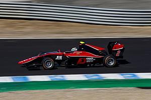 GP3 Race report Jerez GP3: Fukuzumi wins, Russell beats Aitken to second