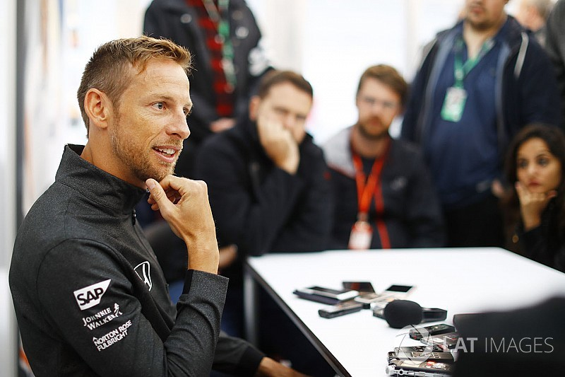 Button prueba el Honda de Super GT