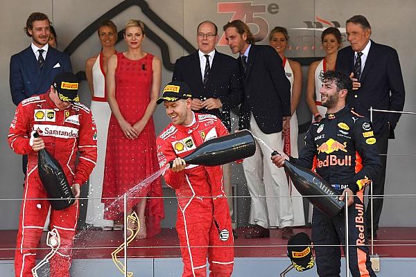 F1 Reporte de la carrera Victoria de Vettel en un 1-2 de Ferrari en Mónaco