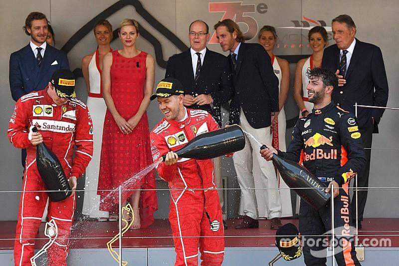 Victoria de Vettel en un 1-2 de Ferrari en Mónaco