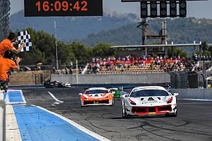 Ferrari Gara Grossmann, Liebhauser e Hassid a segno al Paul Ricard in Gara 2