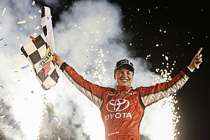 NASCAR Truck Race report Christopher Bell spins and wins NASCAR Truck race at Kentucky
