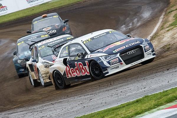 World Rallycross Reporte de la carrera Ekstrom logró el triunfo en la apertura del Mundial de Rallycross