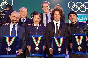 Speciale Ultime notizie Cairoli, Fontanesi e Morbidelli insigniti del Collare d'Oro del CONI