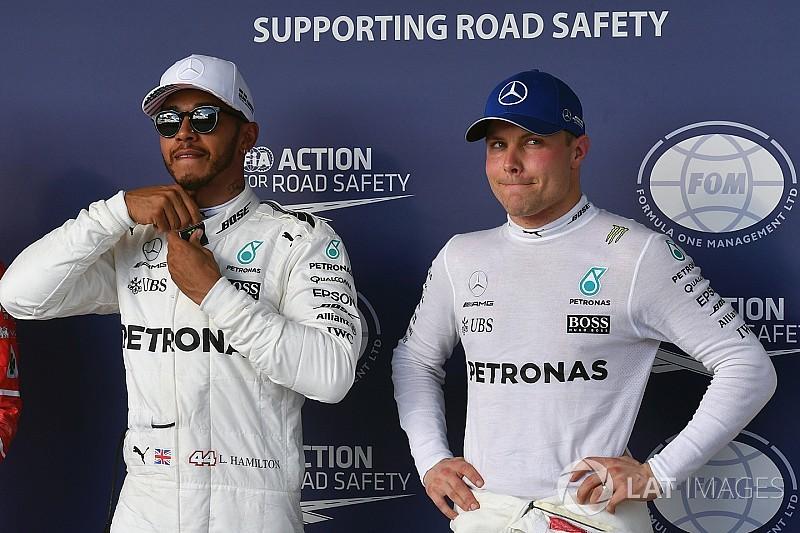 Bottas: Não sabia o quão duro Hamilton trabalhava
