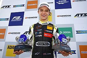 FIA F2 Breaking news McLaren junior Norris to make F2 debut in Abu Dhabi