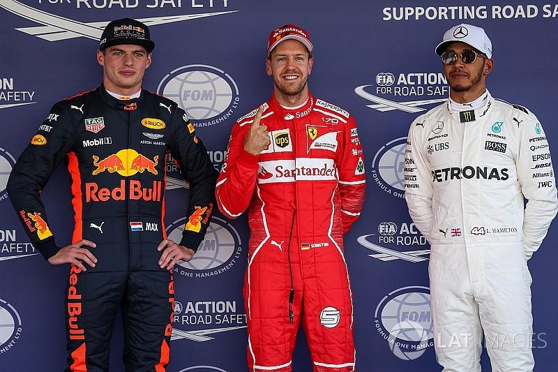 Vettel nyerte a mexikói időmérőt Verstappen és Hamilton előtt