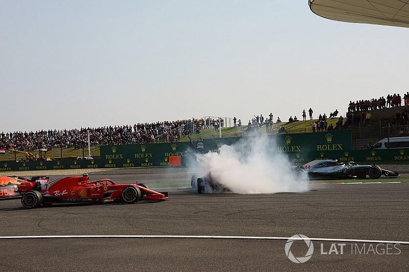 Hamilton attól tartott, hogy a Vettel/Verstappen incidens áldozata lesz