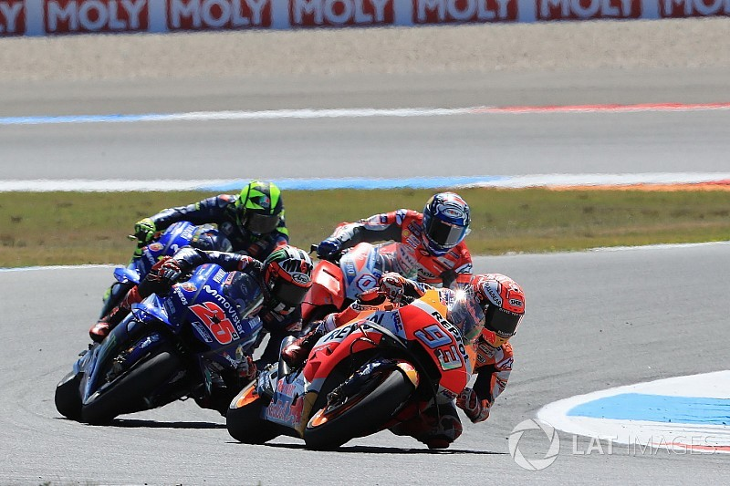 "Vinales moment the biggest scare in ""wild"" Dutch TT - Marquez"