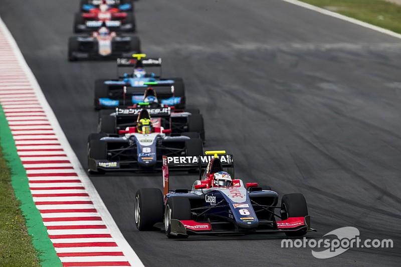 【動画】GP3バルセロナ レース2ハイライト